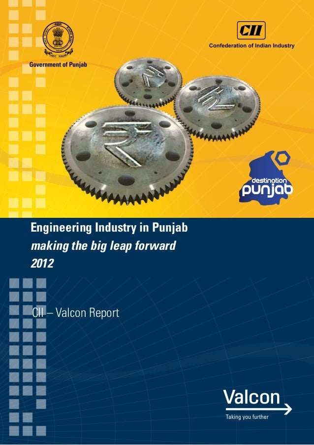 CII - Valcon Report on Engineering Industry in Punjab 2012
