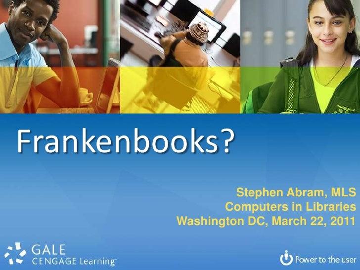 Cil2011 frankenbooks