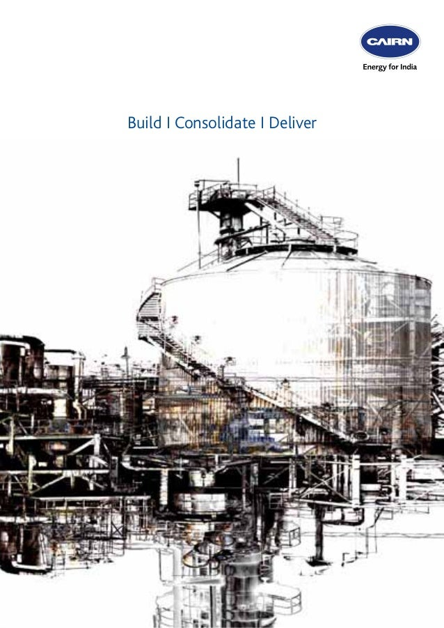 Cairn India Corporate Brochure | 2012