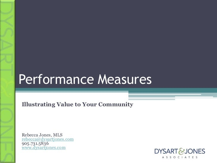 CIL 2011 Performance Measures: Illustrating Value to Your Community for web