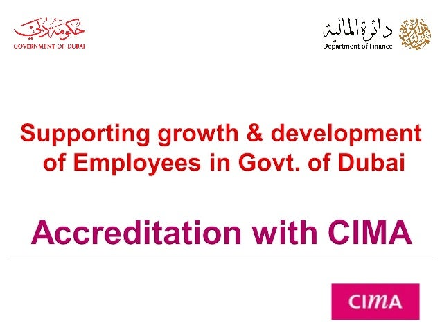 Cima certification dof