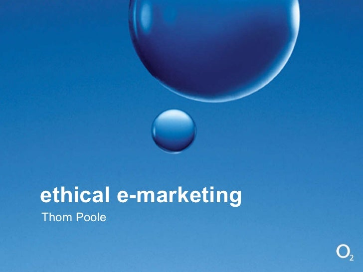 Ethical e-Marketing