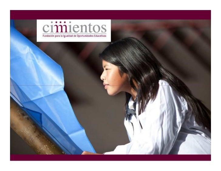 Educación de calidad para todos                  Misión    Promover la igualdad de oportunidades     educativas mediante p...