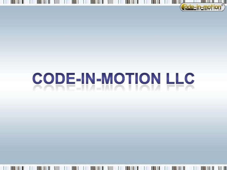 code-in-motion LLC<br />