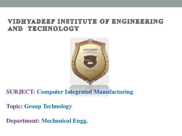 Integrated Manufacturing Group 13
