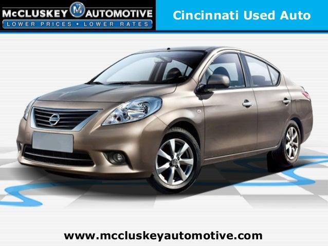Cincinnati Used Autowww.mccluskeyautomotive.com