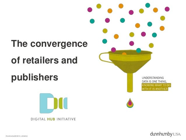 The convergence        of retailers and        publishers© dunnhumbyUSA 2012   confidential