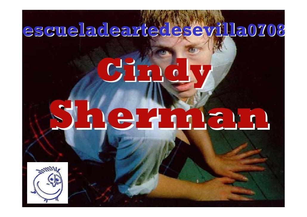 escueladeartedesevilla0708         Cindy   Sherman