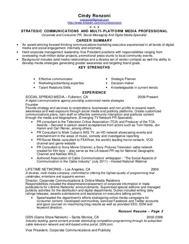 resume sample 2014 converza co