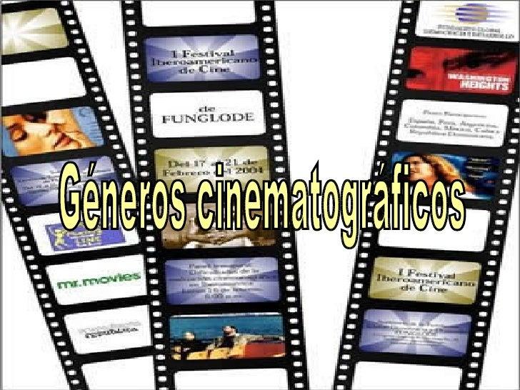 Géneros cinematográficos