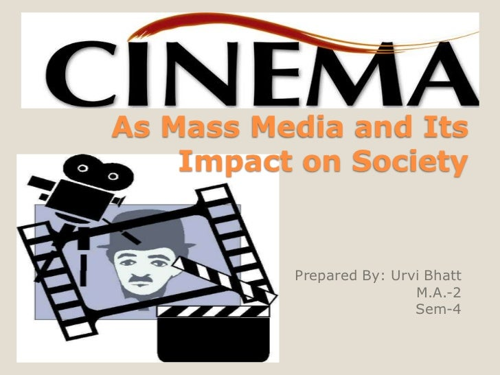 cinema and its impact on our The future of technology and its impact on our lives by kunal sinha, ogilvy & mather shanghai — april, 2005.