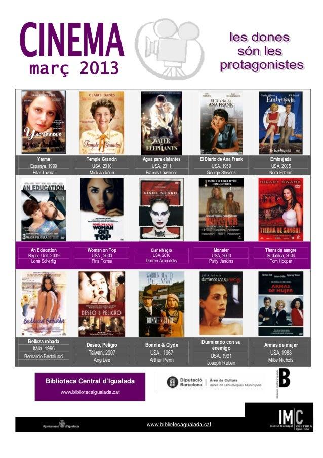 Cinema març 2013