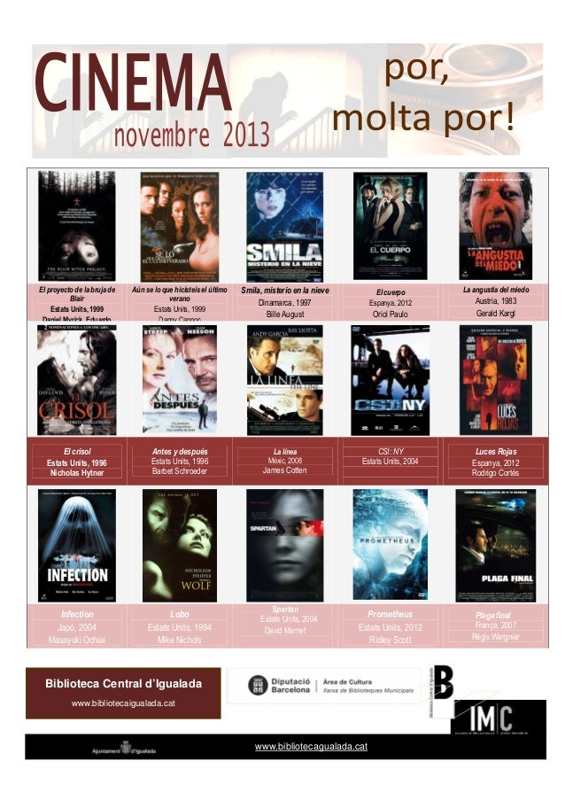 Cinema novembre 2013