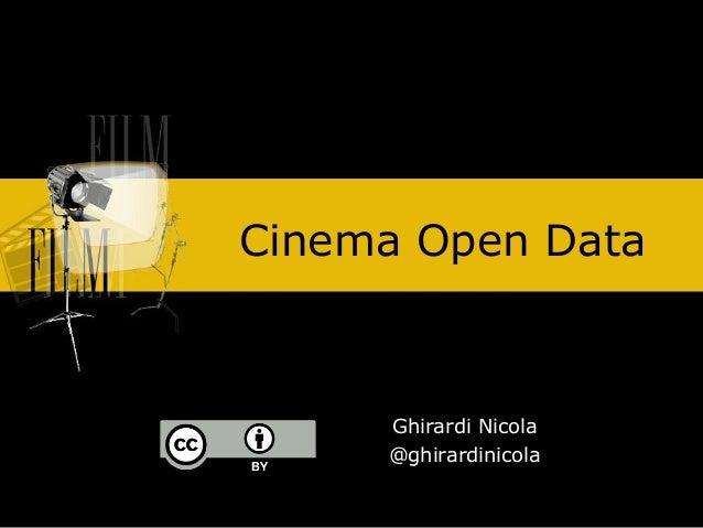 Cinema open data