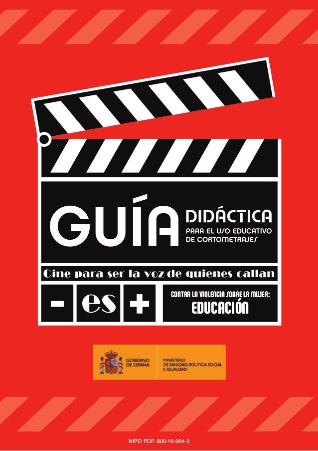 CONTRA LAVIOLENCIA SOBRE LA MUJER:EDUCACIÓNNIPO PDF: 800-10-004-3