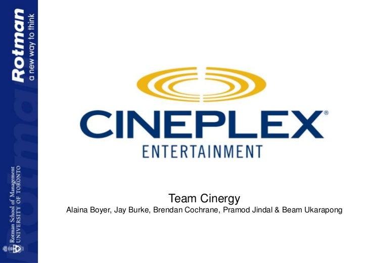 Team CinergyAlaina Boyer, Jay Burke, Brendan Cochrane, Pramod Jindal & Beam Ukarapong