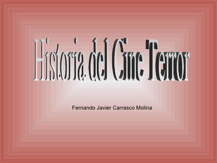 Fernando Javier Carrasco Molina