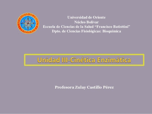 Cinetica enzimatica 2 2011