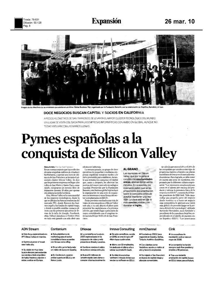 Cink Silicon Valley Expansión