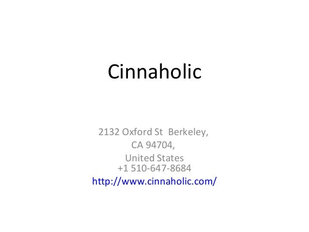 Cinnaholic - a huge range of yummy vegan desserts!