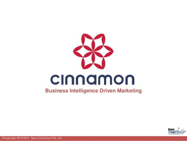 Business Intelligence Driven Marketing©Copyright 2013-2014. Spicy Cinnamon Pte. Ltd