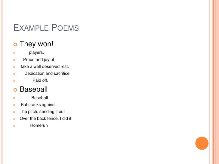 Cinquain Poem 1
