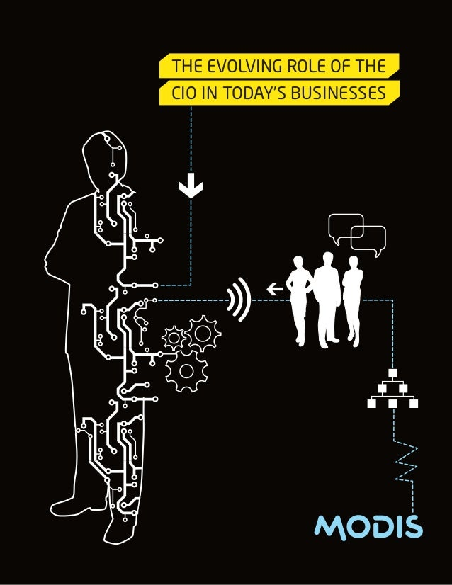 THE EVOLVING ROLE OF THECIO IN TODAY'S BUSINESSES
