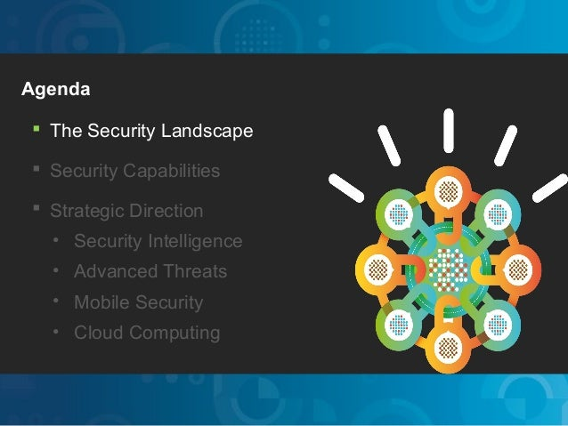 IBM Security SystemsAgenda The Security Landscape Security Capabilities Strategic Direction     • Security Intelligence...