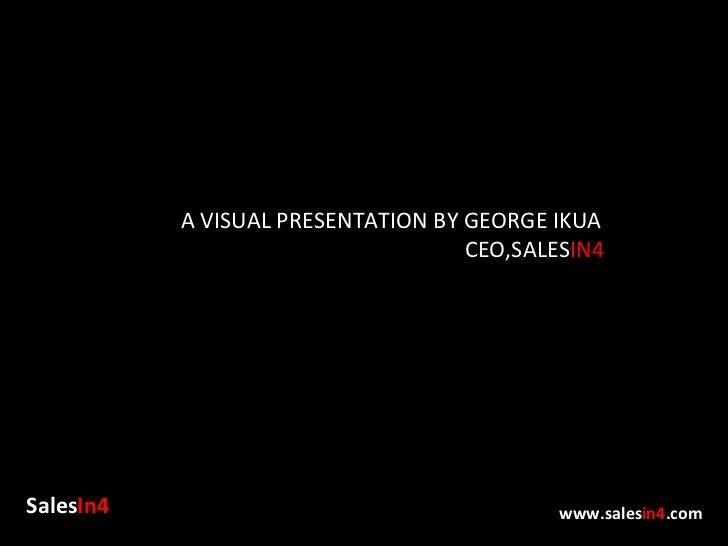 Presentation at CIO 100 Awards by SalesIn4 CEO