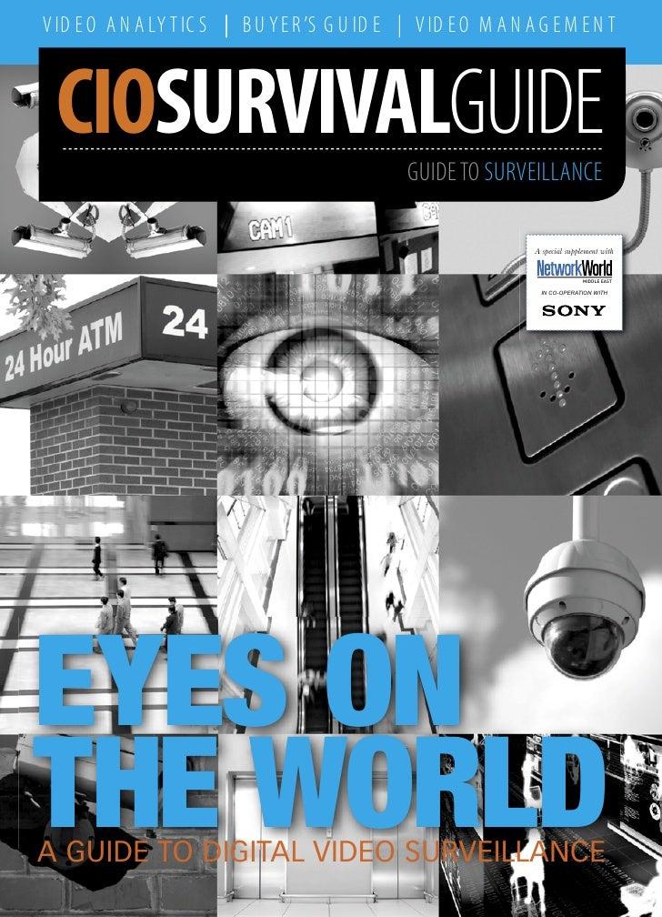 CIO Survival Guide for Sony IP Video Surveillance