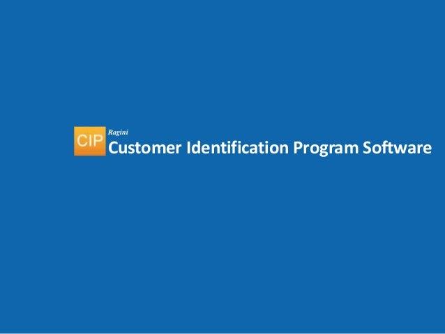 Customer Identification Program(CIP) Enterprise