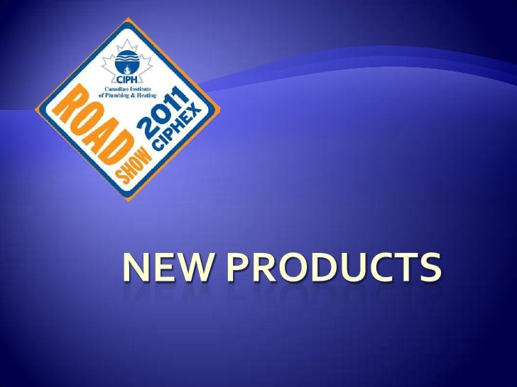 NEW PRODUCTS<br />