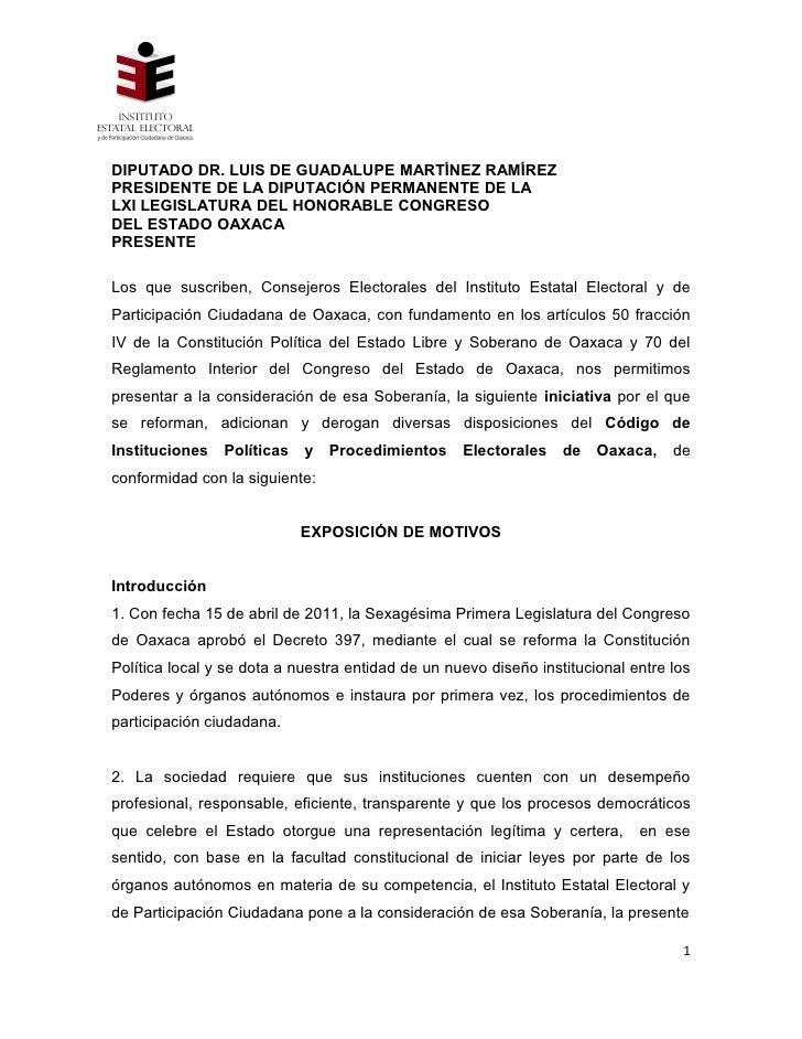 DIPUTADO DR. LUIS DE GUADALUPE MARTÍNEZ RAMÍREZPRESIDENTE DE LA DIPUTACIÓN PERMANENTE DE LALXI LEGISLATURA DEL HONORABLE C...