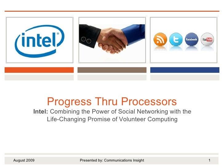 Progress Thru Processors