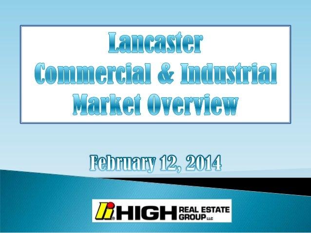 Lancaster County PA Economic Forecast--High Associates Ltd. 02-12-2014