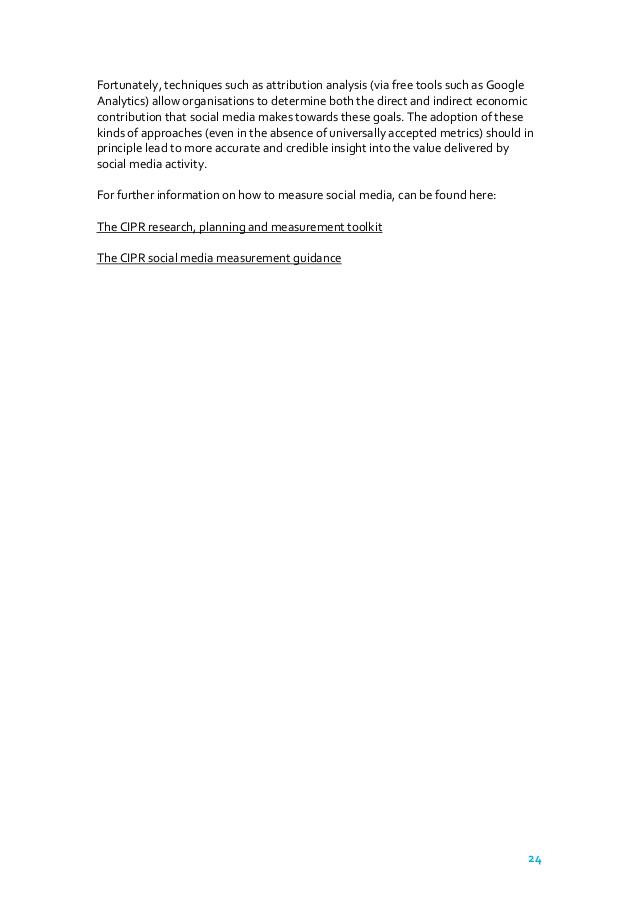 CIPR Social Media Best Practice Guidelines