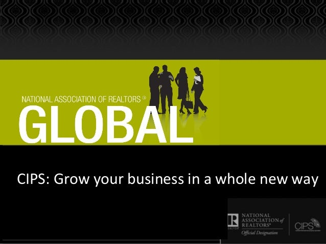 CIPS: Grow your business in a whole new way