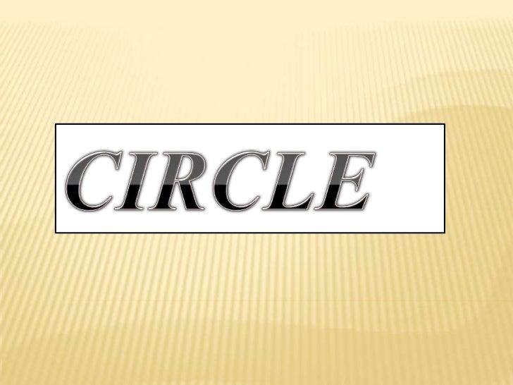 CIRCLE<br />