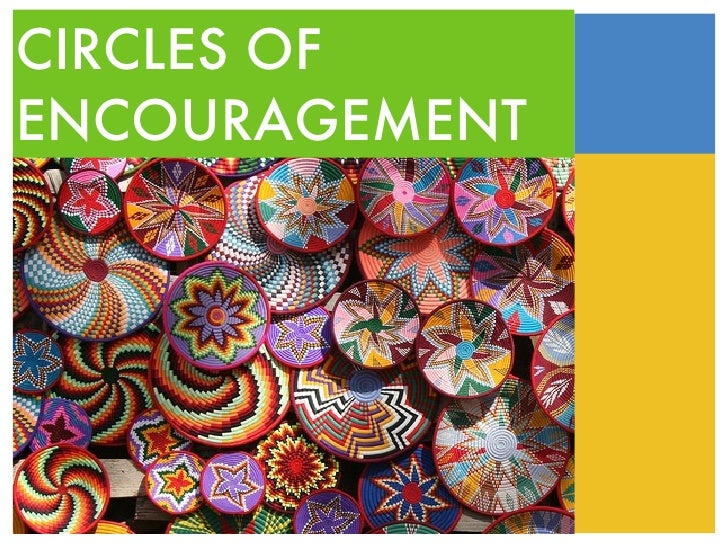 CIRCLES OF ENCOURAGEMENT