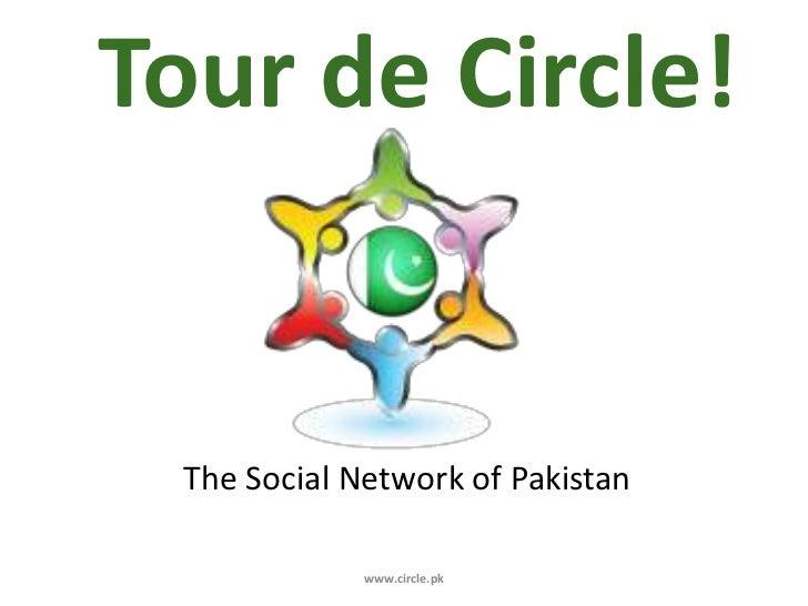 Circle The Social Network of Pakistan