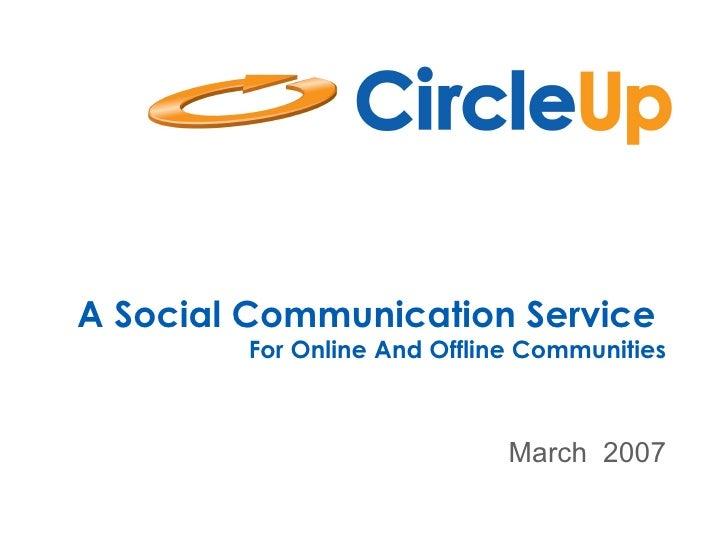 CircleUp Overview