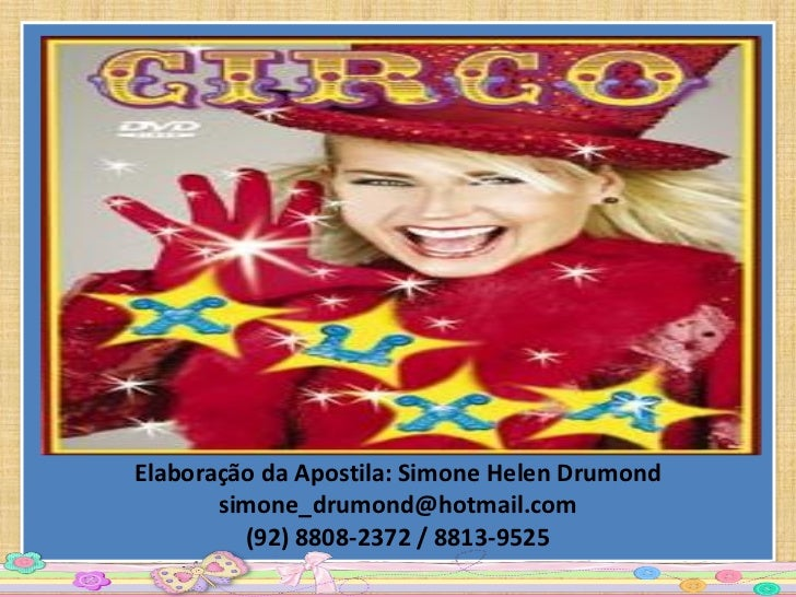 Elaboração da Apostila: Simone Helen Drumond       simone_drumond@hotmail.com         (92) 8808-2372 / 8813-9525