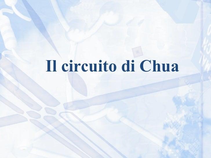 Il circuito di Chua
