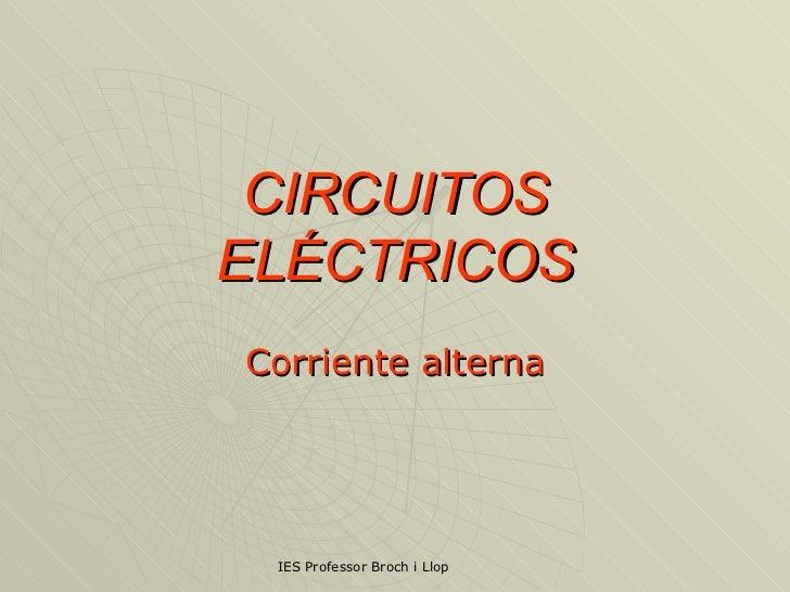 Circuitos Electricos CA