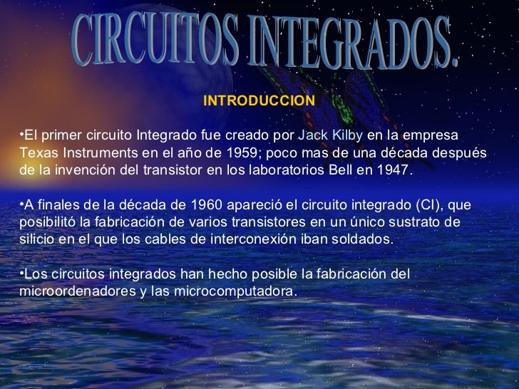 Circuito Integrado : Circuitos integrados
