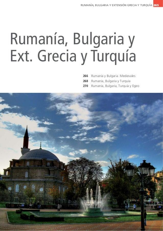 Circuitos Rumanía y Bulgaria   Mapaplus 2014 - 2015