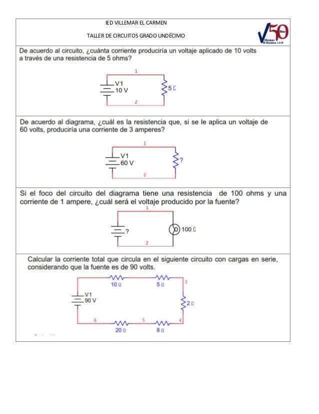 Circuito En Serie Y Paralelo : Circuitos serie y paralelo ejercicios