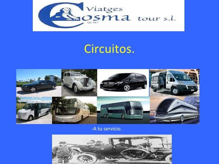 Circuitos 2011 en Español