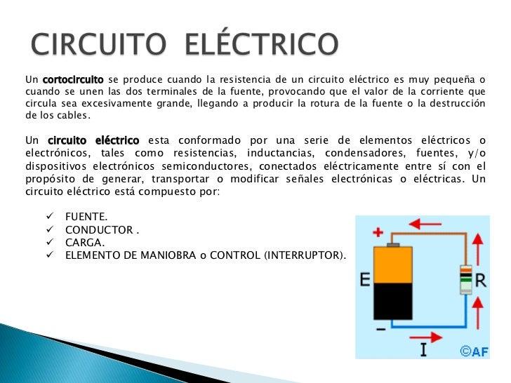 Circuito Eletricos : Circuitos electricos y electronicos