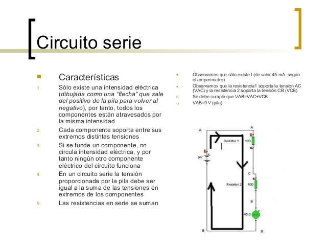 Circuito Electrico En Serie : Circuito serie paralelo y mixto
